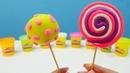 Las paletas de plastilina. Play Doh vídeos. Juegos infantiles.