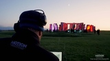 Projection Mapping Stonehenge - A world first lighting up Stonehenge with star DJ Paul Oakenfold