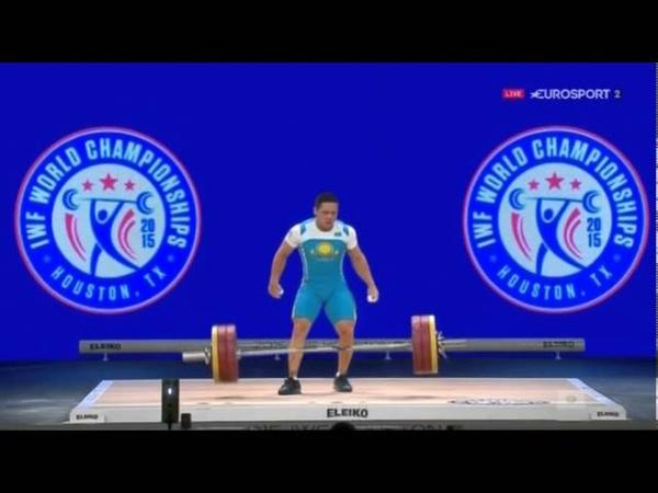 Тяжелая атлетика Чемпионат Мира 2015 г Мужчины до 85 кг