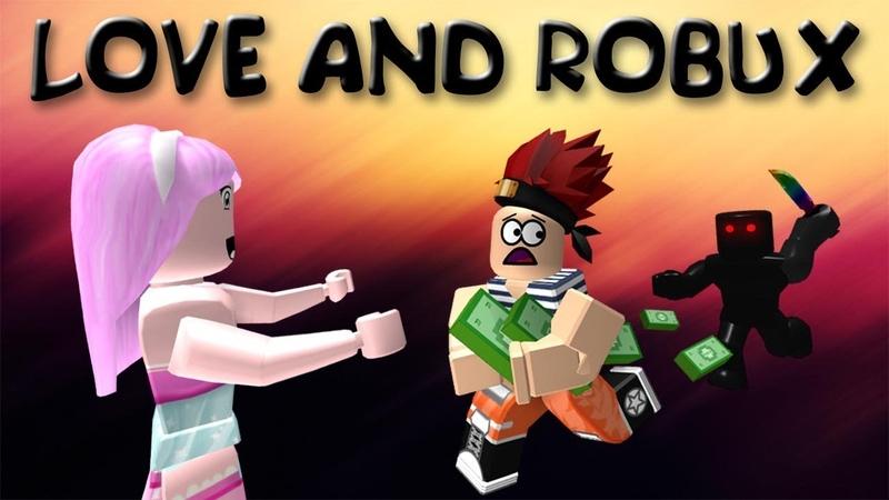РОБЛОКС Клип Любовь и Робуксы Story about Love and Robux ROBLOX MUSIC VIDEO