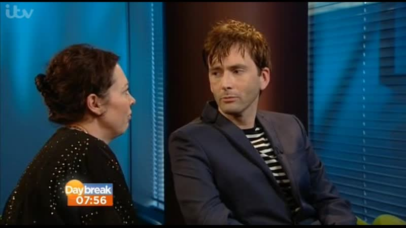 2013 David Tennant singing on ITV Daybreak