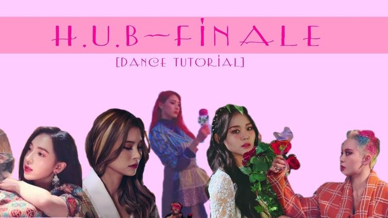 H.U.B - Finale (피날레) [ MIRRORED dance tutorial ] | by 2XICANDY
