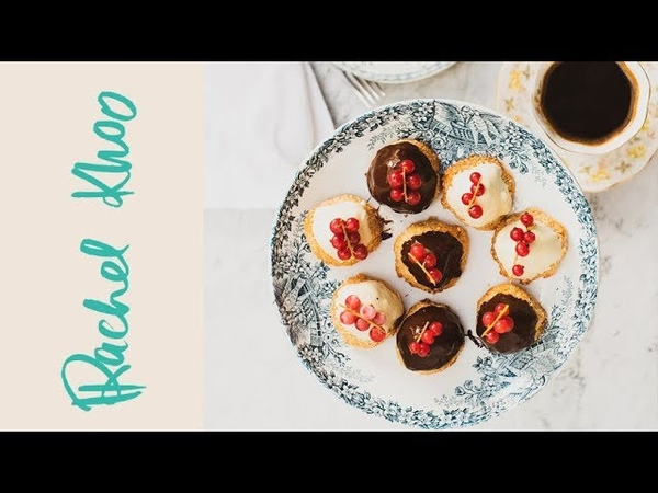 Rachel Khoo's White Chocolate and Berry Coconut Mountains