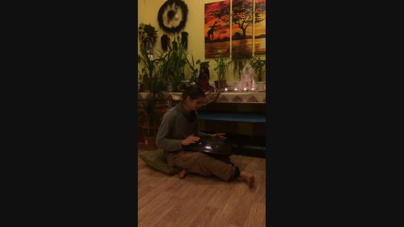 Йога-Нидра под звуки Хэндпана