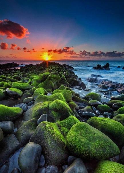 Восход солнца на острове Мадейра