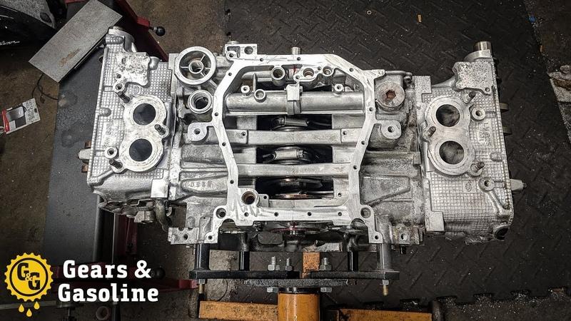 Subaru Engine Build (ASMR)