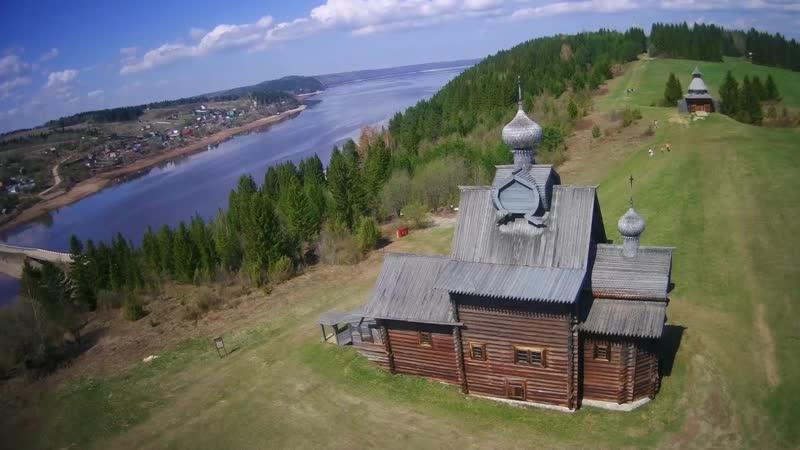 Архитектурно-этнографический музей «Хохловка». ФОТО. СЪЕМКИ КВАДРОКОПТЕРА.