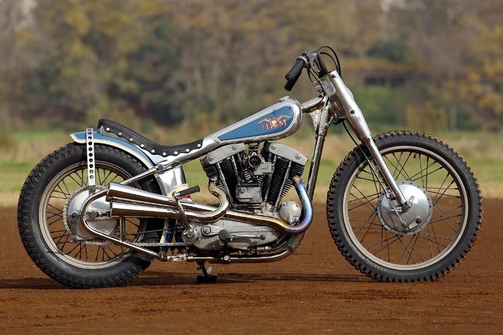 Hide Motorcycle: кастом Harley-Davidson ironhead