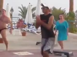 Когда фитнесс-инструктор не так крут как наш турист)