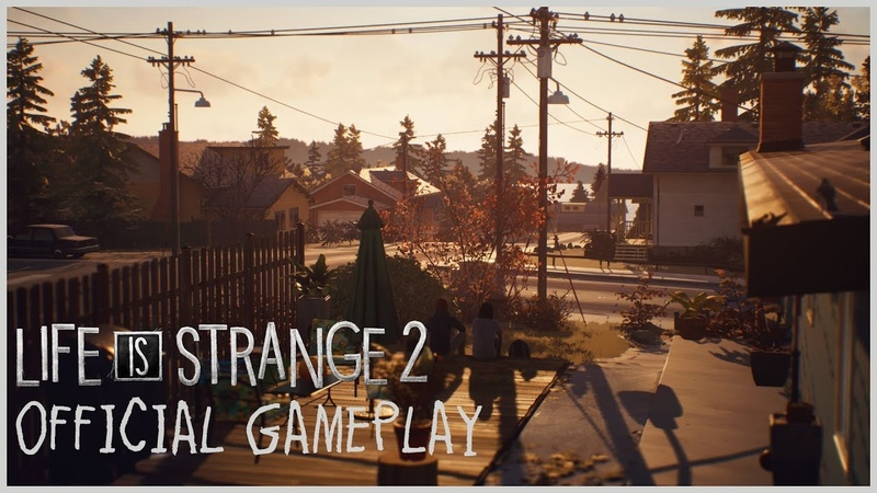 Life is Strange 2 - Official Gameplay - Seattle [PEGI]