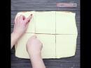 Лодочки из слоеного теста с начинкой