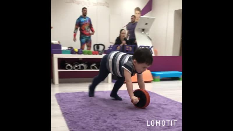 Тренировки для молодых мам