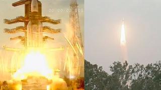 GSLV Mk III-D2 launches GSAT-29