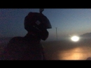 Выперлись в поле, туман, мотодвижение :)
