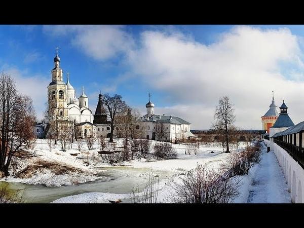 Вологда Спасо Прилуцкий мужской монастырь 4К
