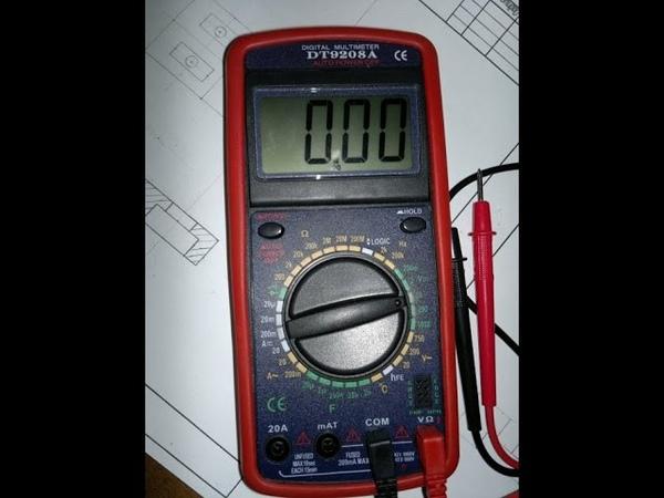 Как пользоваться мультиметром (тестером) для начинающих