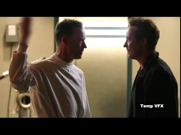 Eobard Thawne meets Harisson Wells Deleted Scene | Crisis on Earth-X Crossover