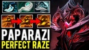 Paparazi Shadow Fiend is back - Perfect Raze of World Top-1 Solo SF