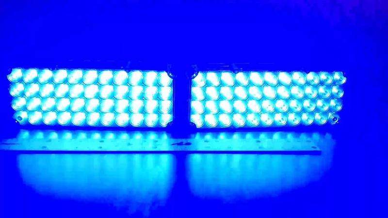 Полицейский стробоскоп синий 2-44 gv-auto.com.ua