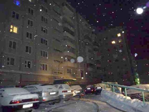 Пожар в лифте в доме №5 по проспекту Мира