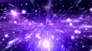 4K Space Stars PURPLE BLUE Moving Background AAVFX