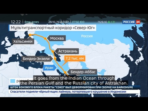 New Suez Canal Russia, India, Iran Working on North-South Corridor Land Route From Asia to Europe