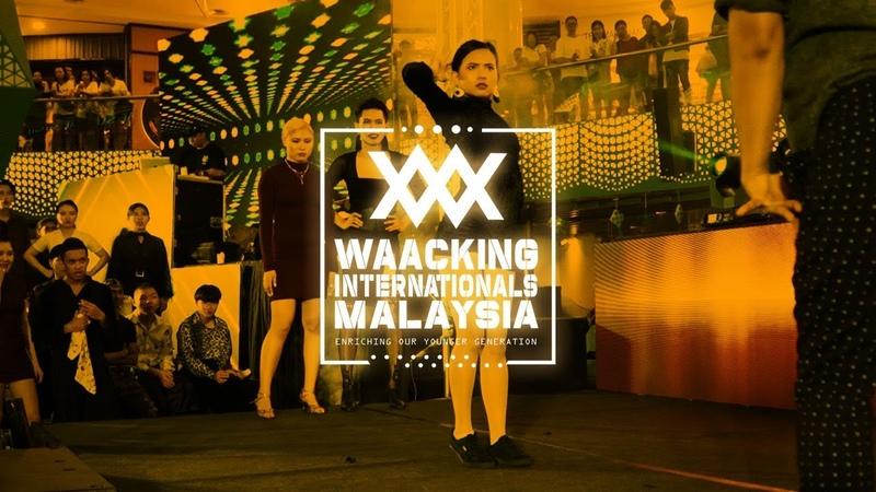 Team Bao Bao Queen vs Team Afrodite 2v2 Top 16 Waacking Internationals Malaysia 2019 RPProds