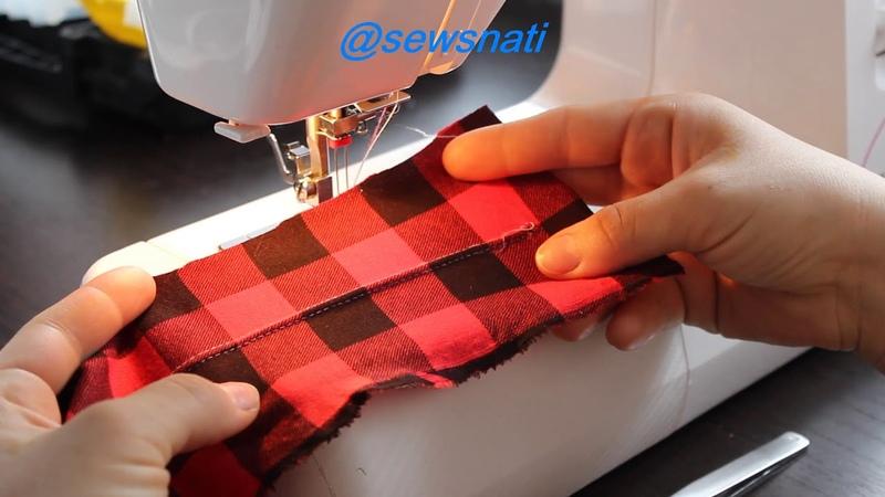 Как шить двойной иглой