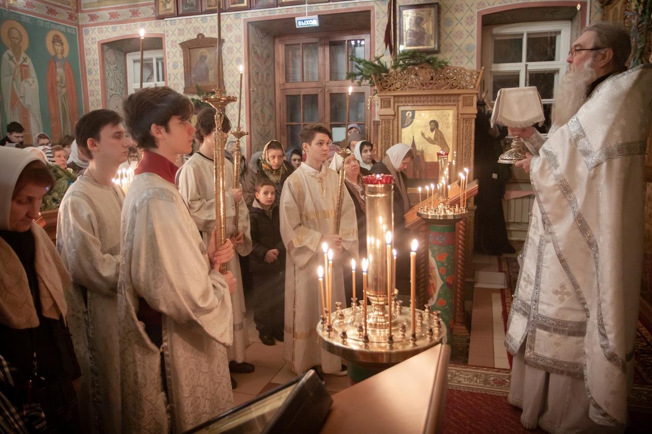 Рождество Христово в храме святых Космы и Дамиана