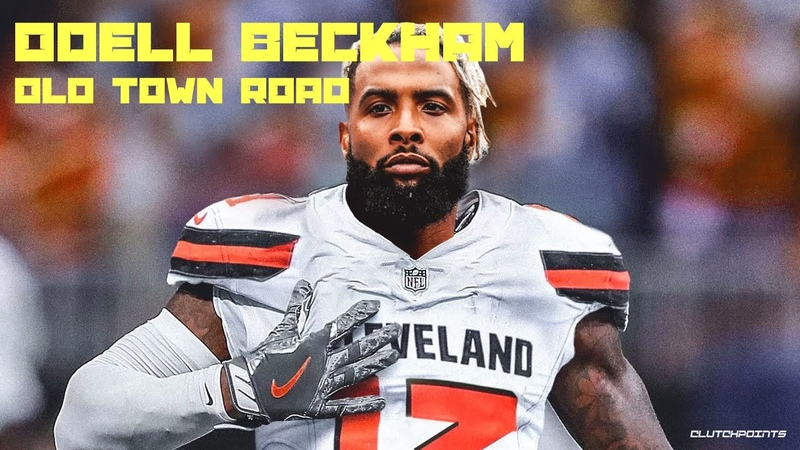 Odell Beckham Jr. Old Town Road Highlight Mix Ft. Lil Nas X Billy Ray Cyrus