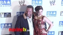 WWE Superstars Triple H Meets Ariel Winter at WWE SummerSlam 2011 LA Event
