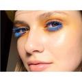Mitya Hrybko on Instagram crazy lashes for #basic_pro @makeupmeacademy model @burumenskaya #blue #orange