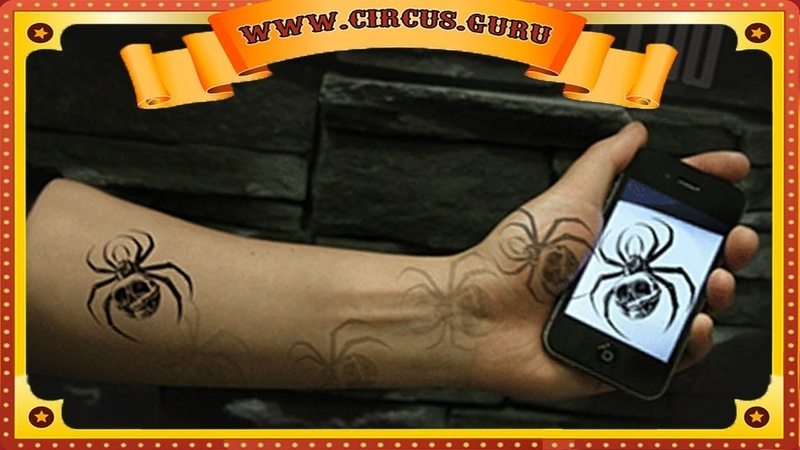 Фокус моментальная татуировка из любой картинки