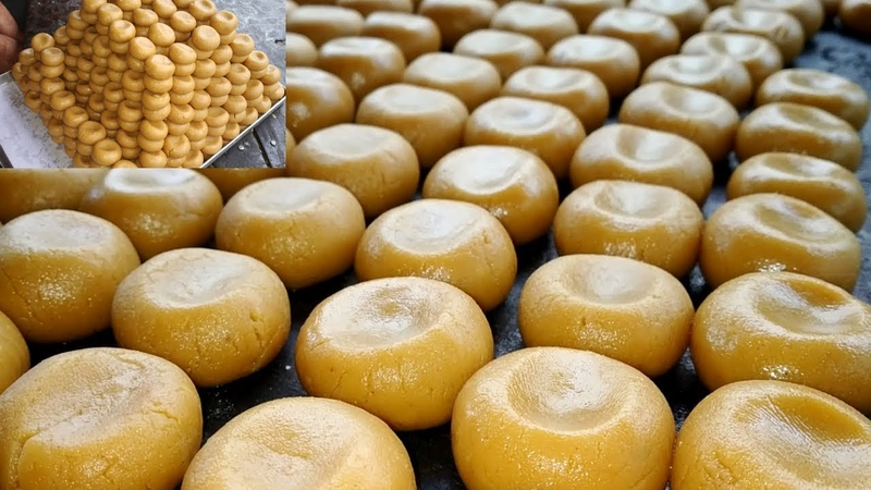 How It's Made - DOODH PEDA - Kova Peda Sweet Making Video - Milk Made Indian Sweets With Subtitles