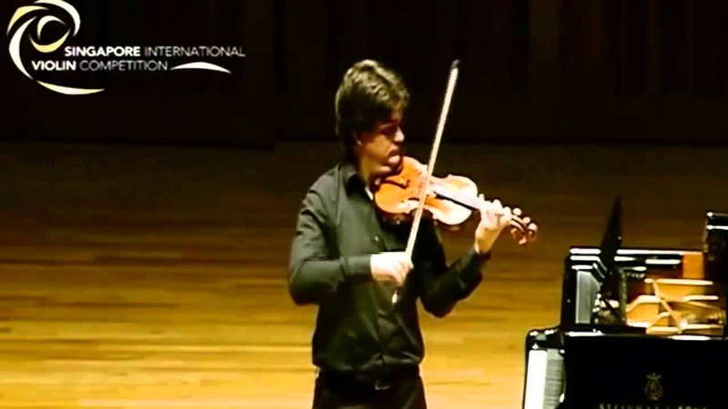 Fedor Rudin   Paganini Caprice 5   Singapore International Violin Competition   2015