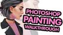 Digital Painting Workflow in Photoshop