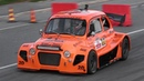 OnBoard a Suzuki-powered Fiat 500 Proto P2 by Protocorse around a street circuit!