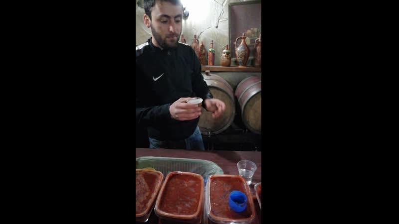 Дегустация вин и чачи
