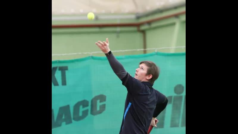Школа тенниса Антона Сашникова ❤️