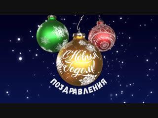 Новогоднее поздравление от Елены Михайловой