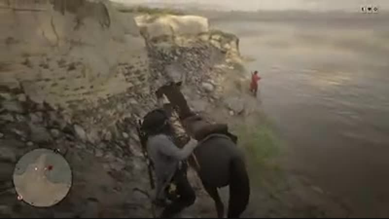 Is this better than griefing? 🤔 i didnt really bother the man. Red Dead Online