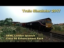 Train Simulator 2017 GEML London Ipswich Class 66 Enhancement Pack