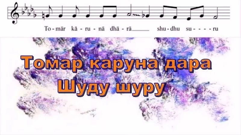 Песня Шри Чинмоя Diye Jai Diye Jai «Твой поток Сострадания только дает…»