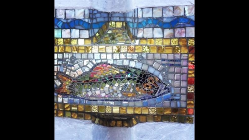 Рыба Мозаика Дубна Набережная