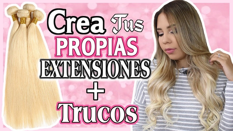 EXTENSIONES Cómo Hacerlas Colocar y Estilizarlas│SuperNova ♡│Mirianny