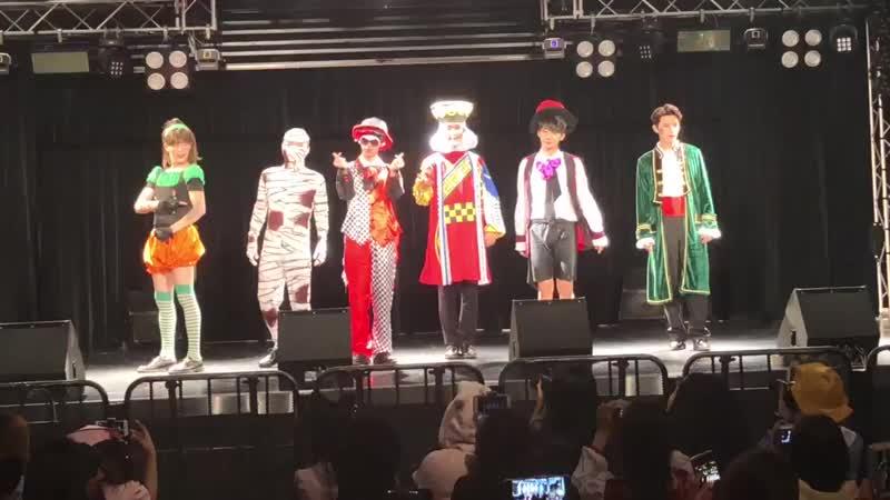 181020 TOPSECRET Нагоя, мероприятие в ReNY