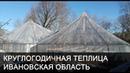 Круглогодичная теплица в Ивановской области