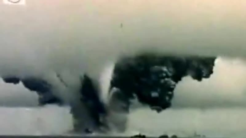 Kamikaze Attack ~ USS John Burke - Complete destruction of ship and all on board!_x264