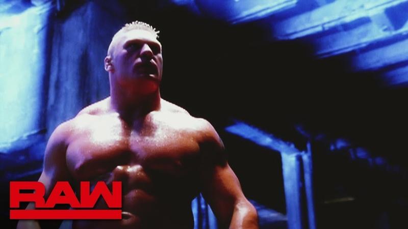 The Kingslayer Paul Heyman presents a Brock Lesnar career retrospective Raw Feb 18 2019