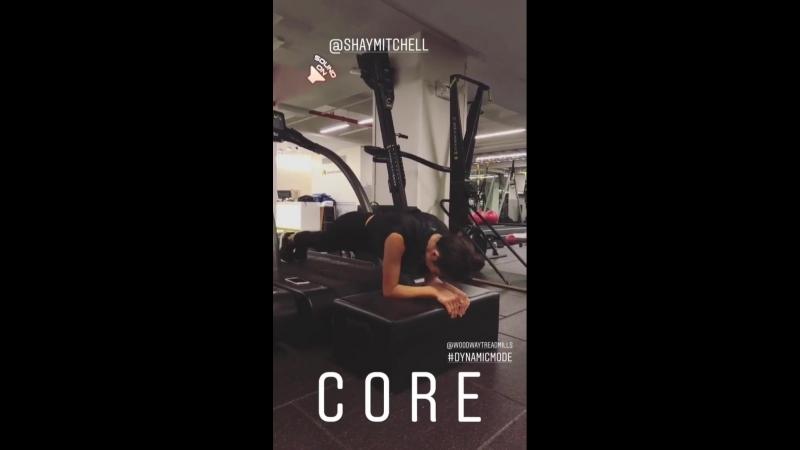 Shay Mitchell on Kira Stokes' Instagram Story (11 сентября 2018)